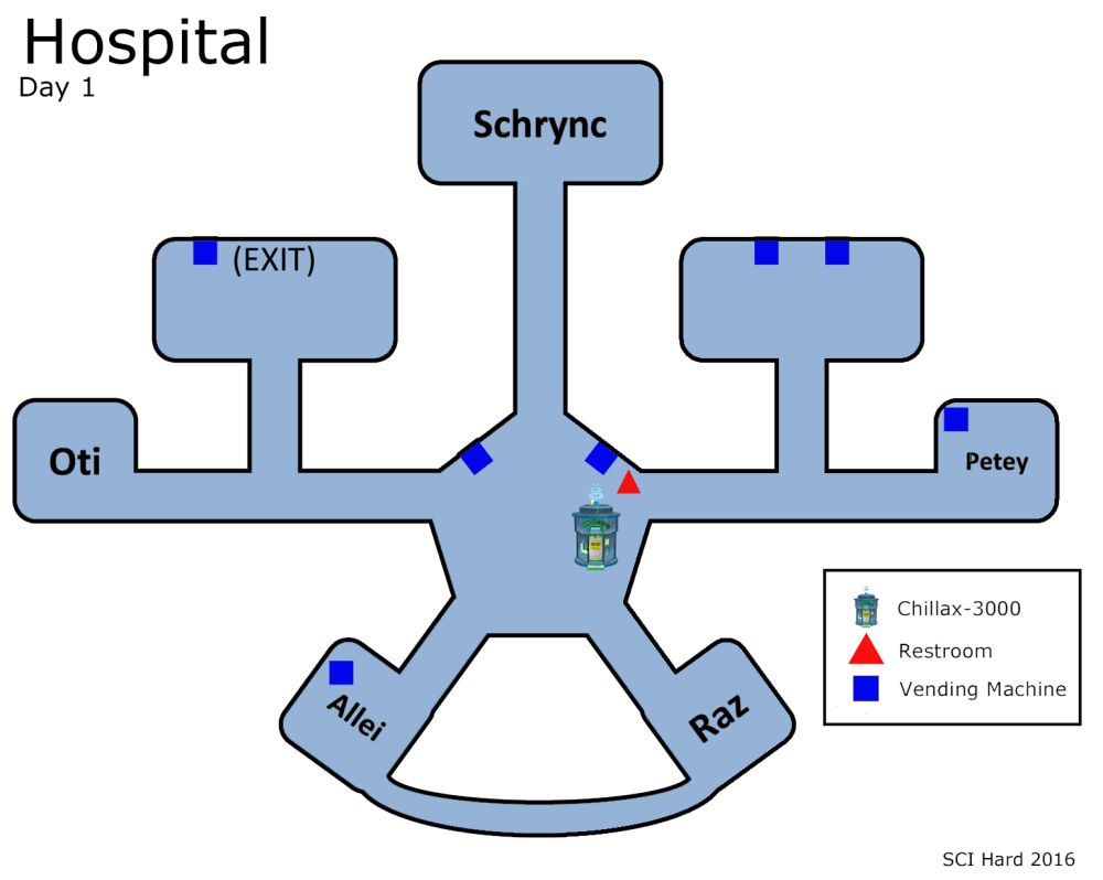Hospital Map Day 1