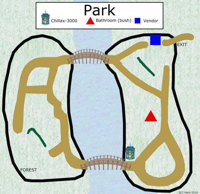 Sci Hard Park Map