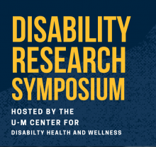 disability health research symposium