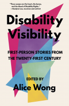 Disability Visibility Cover